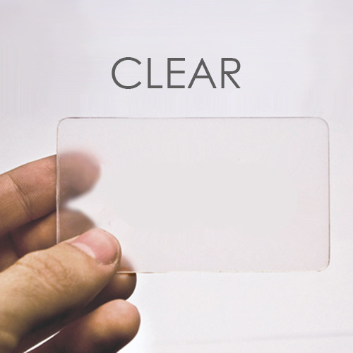 Clear plastic business cards dawaydabrowa clear plastic business cards colourmoves