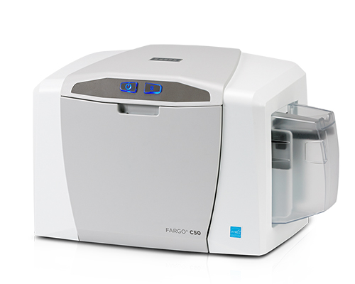 Fargo C50 Card Printer Bundle