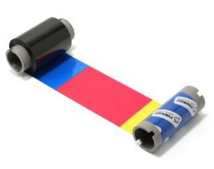 Fargo YMCKOK Color Printer Ribbon