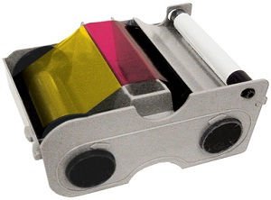 Fargo YMCKOK Printer Ribbon 45210